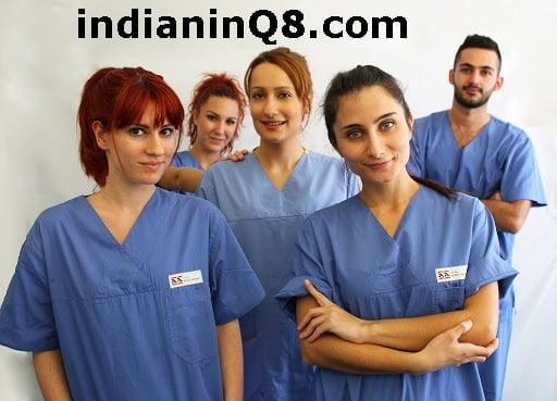Nurses, iiQ8, indianinQ8, indians in kuwait, iik