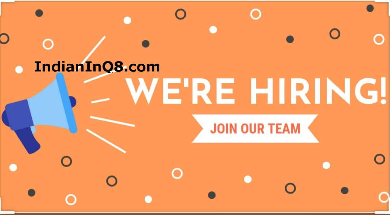 Q8 Vacancy, urgently required, vacancies, iiQ8
