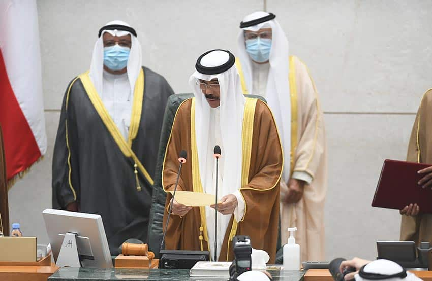 Sheikh Nawaf Al-Ahmad takes oath as Kuwait's 16th Amir